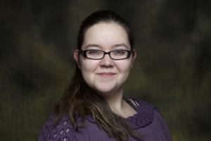 Vicki Trask's Headshot from Urinetown