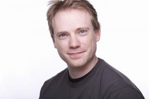 Darren Stewart's Headshot from 9 to 5 The Musical