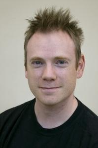 Darren Stewart's Headshot from The Pajama Game