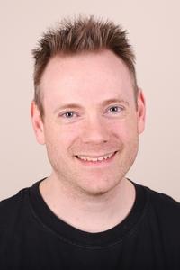 Darren Stewart's Headshot from Avenue Q