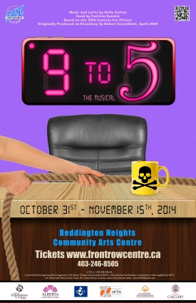9 to 5 The Musical poster