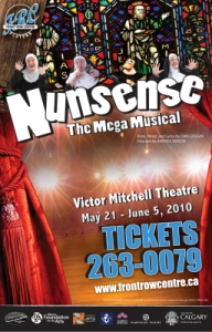Nunsense the Mega Musical poster