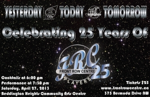 YESTERDAY • TODAY • TOMORROW Celebrating 25 Years of FRC poster