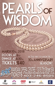 Poster for Pearls of Wisdom