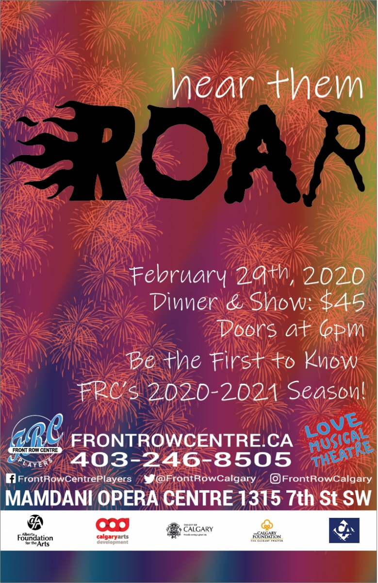 Poster for Hear Them Roar