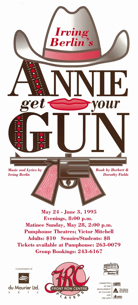 Poster for Annie Get Your Gun
