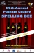 June 20th, 2014 - The 25th Annual Putnam County Spelling Bee